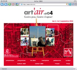 Art'air - Page d'accueil